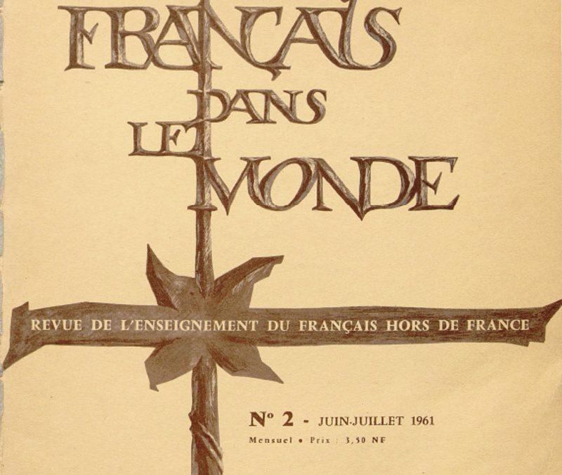 Le Français dans le Monde 2